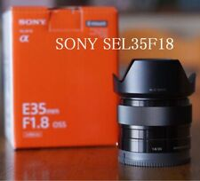 Sony SEL35F18 35mm F1.8 OSS Camera Lens For E-Mount Japan model EMS Shipping F/S