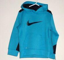 Nuevos Nike Grueso 4 Años Térmico fit sudadera con capucha Azul deporte