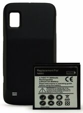 For ZTE Warp N860 Replacement Battery & Black TPU Back Cover