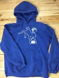 Indianapolis Colts Small Retro Johnny Unitas Small Hoodie - Hooded Sweatshirt