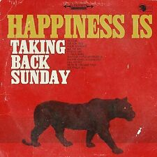 """Taking Back Sunday Happiness Is LP 12"""" Vinyl Record 33 RPM"""