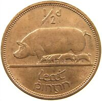 IRELAND 1/2 PENNY 1964 TOP #s29 623