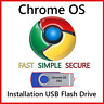 Chrome OS USB Boot Drive 64 Bit Install Repair Live Boot Recover PC *UPDATED