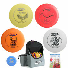 Complete Disc Golf Gift Set - Innova Backpack, 4 Discs (1 Floats), Mini, Rules