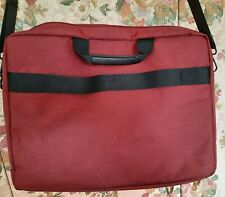 Notebooktasche,rot, f.15,6 Zoll (39,6cm) Laptoptasche, Zubehörfach, Schultergurt