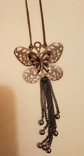 Butterfly Long Chain Necklace