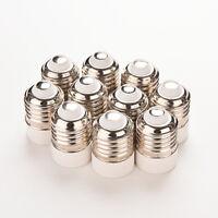5pcs E27 à E14 Base LED Lampe Ampoule Adaptateur Convertisseur Vis Socket