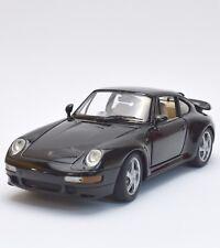 Anson Klassiker Porsche 911 turbo Sportwagen schwarz lackiert, 1:18, OVP, K006