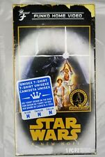 Funko Home Video Star Wars A New Hope Size M T-shirt Retro Limited VHS Box New