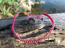 Waterproof Handmade Vegan Studded Bracelet - boho hippie beach pura vida