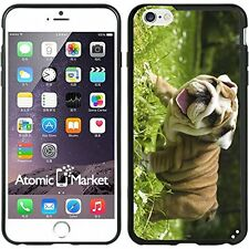 Happy English Bulldog Puppy For Iphone 6 Plus 5.5 Inch Case Cover By Atomic Mark