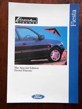 FORD FIESTA FINESSE Special Edition orig 1993 UK Mkt sales brochure