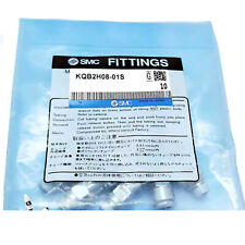 A● 1PC SMC KQB2H08-01S Metal Connector New