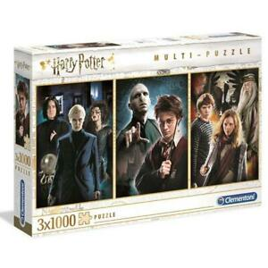 Clementoni 1000 Piece Jigsaw Puzzle 3 in 1 Harry Potter