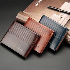 Men's Bifold Leather Wallet ID Credit Card Holder Billfold Purse Clutch Hot
