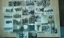 Liasse ww2 Photos Russie Pologne front est Wehrmacht Artillerie 28 pcs.