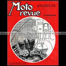 MOTO REVUE N°1221-d CECCATO WILMAN WOOLER FLAT 4 GUZZI 250 AIRONE BMW R67/2 1955