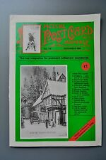 R&L Mag: Picture Postcard Monthly 1988 Dec Methodist Cards/Pictorial Stationery