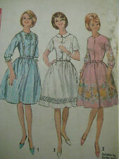 Vintage 60's Simplicity 5800 GATHERED SKIRT DRESS Sewing Pattern Teen Size 12/32