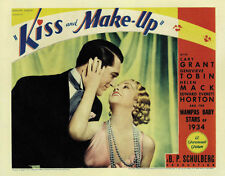 Kiss and Make-Up (1934) Genevieve Tobin Cary Grant movie poster print