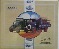 Corgi Classics The Ruddles Bedford O Series & Thornycroft Beer Truck 97752 NEW