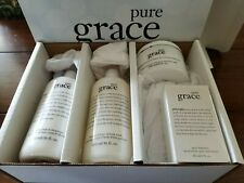 Philosophy Pure Grace 4 Piece Set Nib