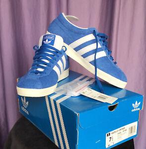 ADIDAS Originals Gazelle Vintage Blue+Gold+White Men's Size 7.5 FU9656