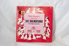 101 Dalmatians A Disneyland Record and Book 7 inch Vinyl Record