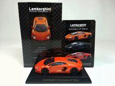 1:64 Kyosho Lamborghini Minicar Collection IV Aventador LP700-4 2011-2017 Orange