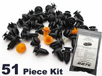 Honda Civic Mk8 Plastic Trim Clip Kit- Front End Plastic Fastener Assortment Set