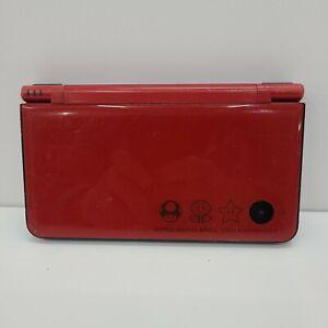 Nintendo DSi XL Super Mario Bros 25th Anniversary Edition Console Only No Stylus