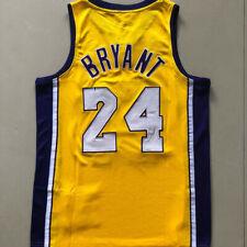 Kobe Bryant Yellow Jersey Laker Final/Champions