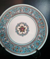 Wedgwood porcelain Turquoise Florentine Side plate pristine condition W2714