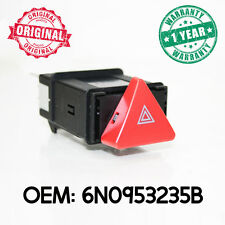 Hazard Warning Lights Switch Push Button for VW Transporter T4 Lupo Polo Caravel