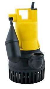 JUNG Pumpen Pumpe U 6 K NIRO ES Schmutzwasserpumpe (JP00227)