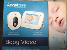 Angelcare Wireless sound and Movement Monitor with Two Way Talk Parent Unit.