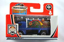 MATCHBOX Hero-City no:56 Matchbox Jouet Boutique Billboard Truck En parfait état, dans sa boîte