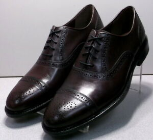 152823 MS50 Men's Shoes Size 11 M Burgundy Leather Johnston & Murphy