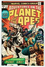 Marvel ADVENTURES ON THE PLANET OF THE APES #1 - VG/FN Oct 1975 Vintage Comic