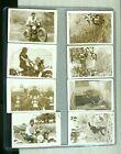 8+Small+Vintage+Photos+Of+A+Motorcycle+Hill+Climb+-+Harley+Davidson+Photographs