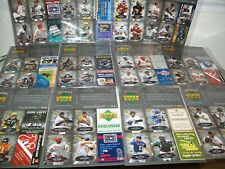 2006 Tuff Stuff/ Upper Deck Exclusive Cards Complete Set 12 Sheets MLB/NFL New