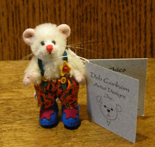 """Deb Canham Artist Designs Chico Mini Mices Coll. 2.5"""" Le Mohair jointed"""