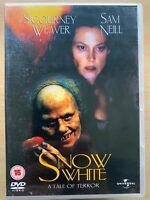 Nieve Blanco Un Cuento De Terror DVD 1996 Culto Revisionist Película Cine