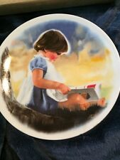 Donald Zolan Childrens Plate Collection By Myself With COA