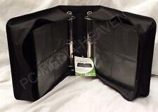 500 Sleeve CD DVD Blu Ray Disc Carry Case Holder Bag Wallet Storage Ring Binder