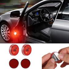 Universal Car Door LED Open Warning Flash Light Kit Wireless Anti-collission