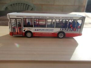 UKBUS3025-CMN PLAXTON POINTER-'TRAVEL LONDON 'PLANE & EASY'-MINT/UNBOXED,USED