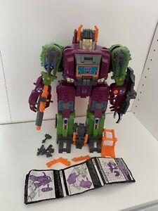 Scorponok Transformers Headmasters Decepticon Base Action Figure 1987 Hasbro