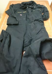 Dickies Ladies or Mens Black colour boiler suit