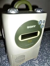 Sony Icf-Cd73V Am/Fm Cd Player Shower Radio liv